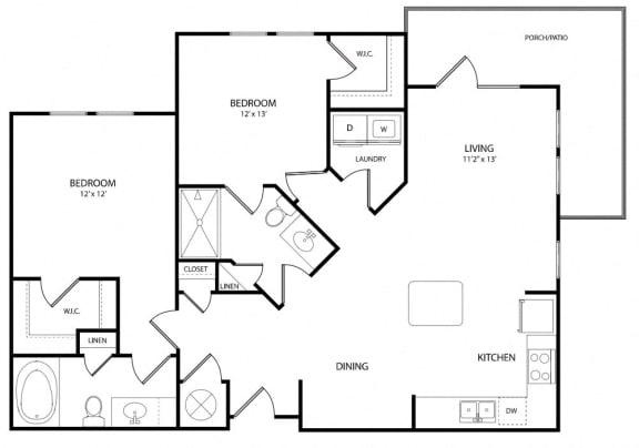 The Maple offers a modern flow through a spacious entertaining kitchen and a luxurious master suit.