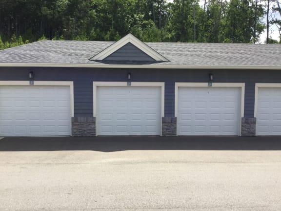 Optional Garages for rent