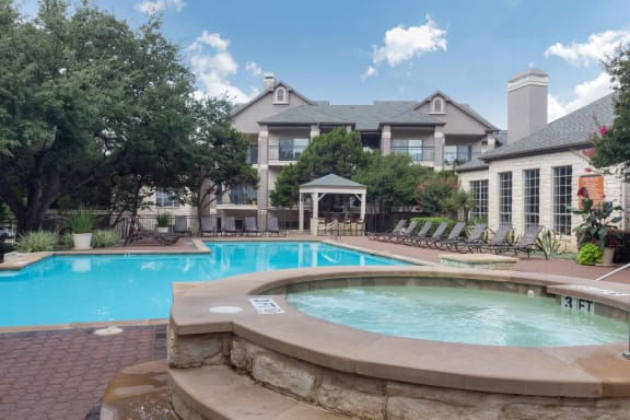 Hot Tub And Swimming Pool at San Marin, Texas, 78759