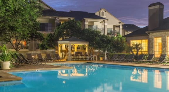 Resort Inspired Pool with Sundeck at San Marin, Austin, TX, 78759