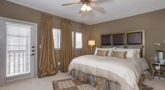 Beautiful Bright Bedroom With Wide Windows at Estancia Townhomes, Dallas, 75248