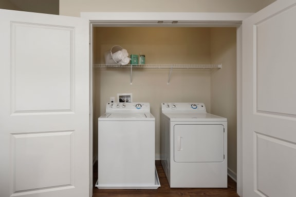In-Unit Washer And Dryer at Liberty Mill, Maryland, 20874