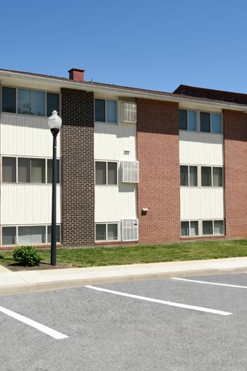 Energy efficient windows at Winston Apartments