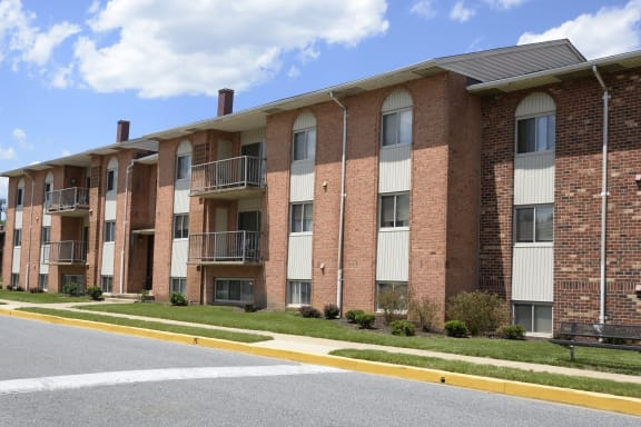 Off street parking available at Windsor House Apartments
