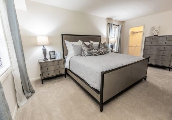 Plush carpeting at Ivy Hall Apartments