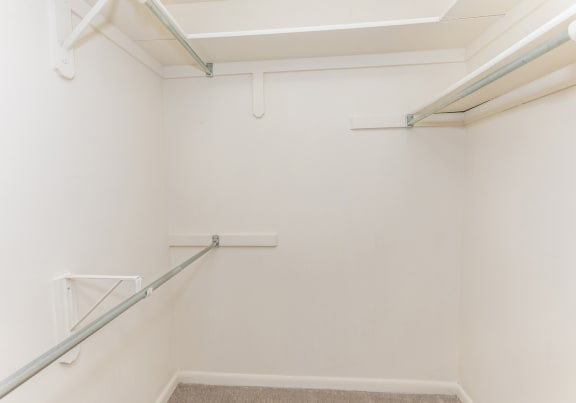 Master huge closet at Ivy Hall Apartments in Towson MD