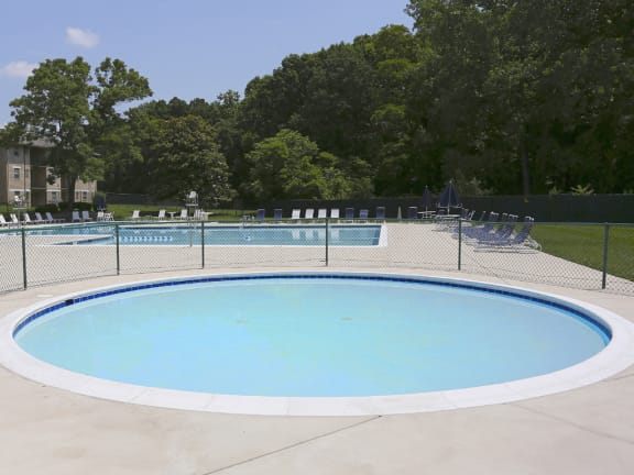 Year-Round Hot Tub at Woodridge Apartments, 3901 Noyes Circle, Randallstown, Maryland