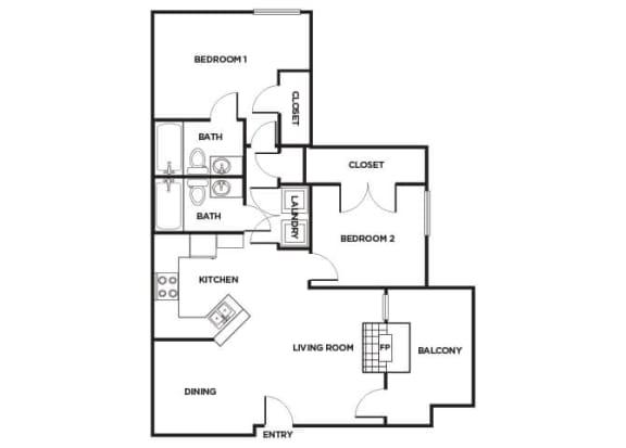 Floor Plan  B160 Floorplan Image