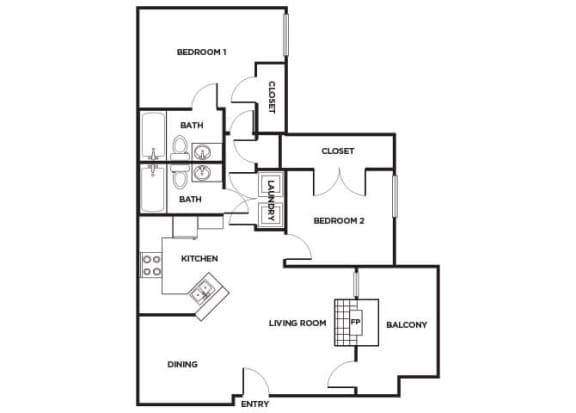Floor Plan  B260 Floorplan Image