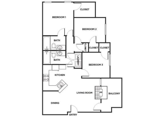 Floor Plan  C260 Floorplan Image