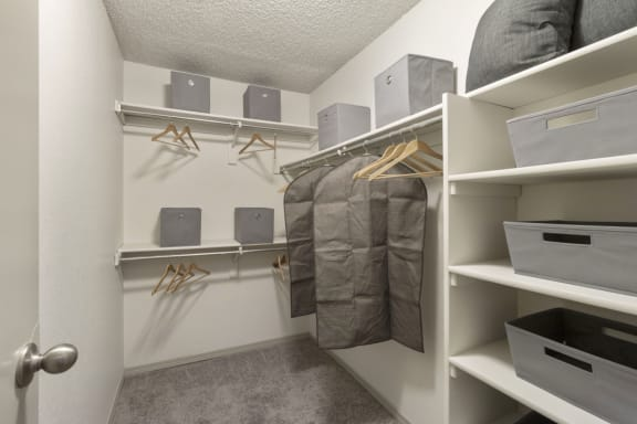 Walk-In Closet at Alvista Trailside Apartments, Englewood, Colorado