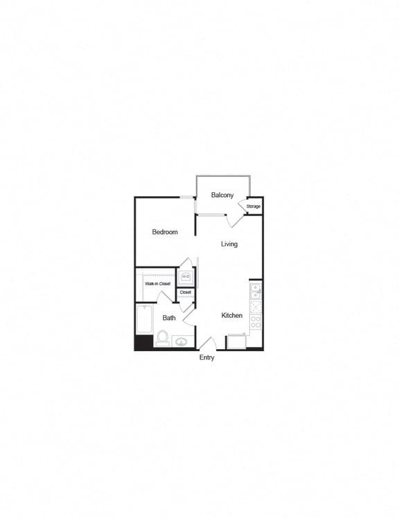 Floor Plan  A2b_1b1b_544sf FloorPlan
