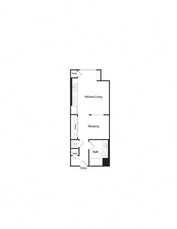 Floor Plan  S3 Studio1b Floorplan layout