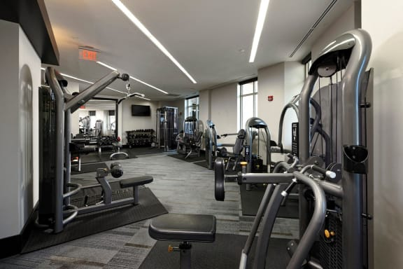 Fitness Center at Aura Pentagon City, Virginia