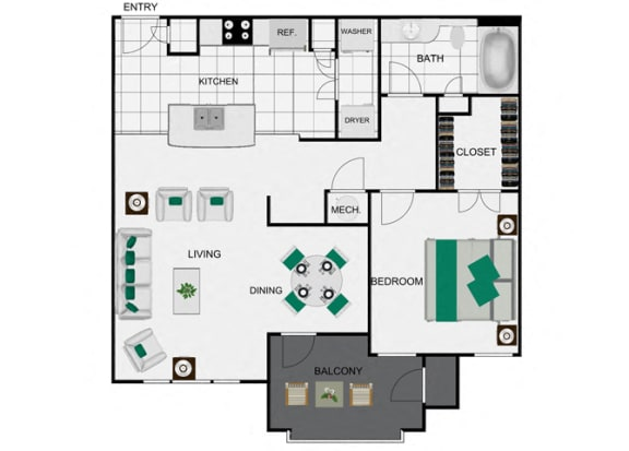 A3_2 Floorplan for arlo westchase