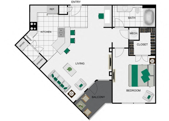 A4_2 Floorplan for arlo westchase