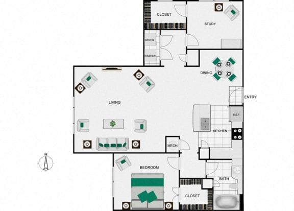 Floor Plan  A8_2 Floorplan in houston