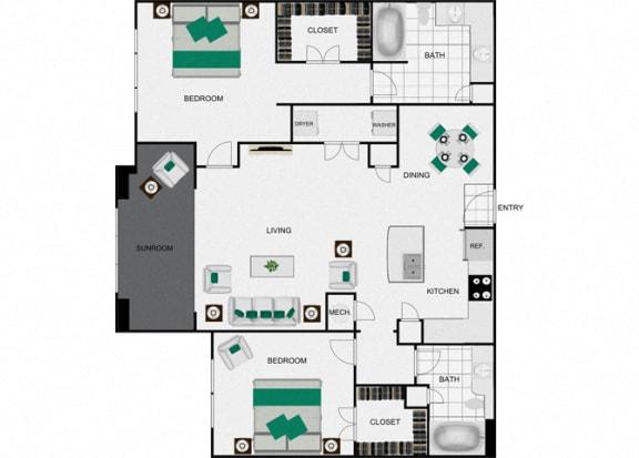 B4b_2 Floorplan for arlo westchase