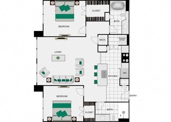 Floor Plan  B9 Floorplan for arlo westchase