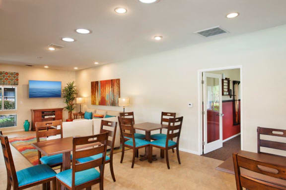 Ample Sitting Space In Clubhouse, at Patterson Place, California, 93111