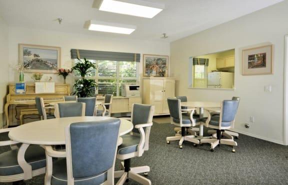 Beautiful Conference Hall at Cypress Meadows Senior Apartments, California