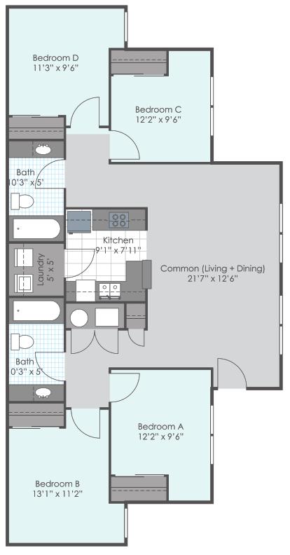 4 bedroom 2 bath website 189 sq ft Renovated