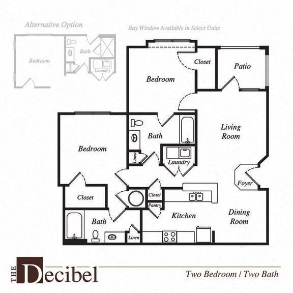 Decibel floor plan