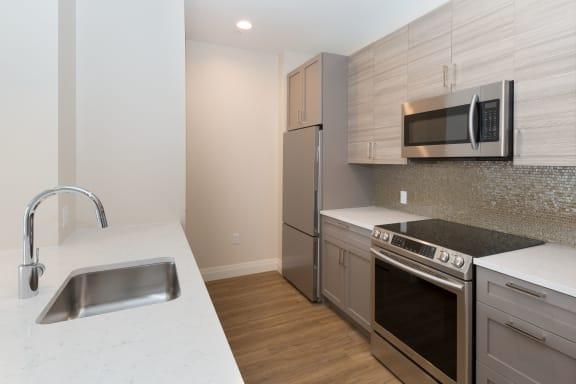 Refrigerator And Kitchen Appliances at 28 Austin, Newton, Massachusetts