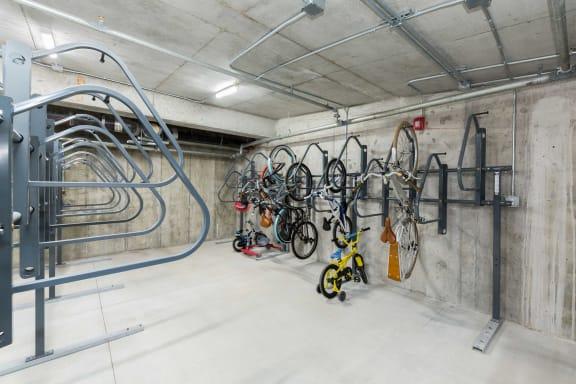 Bike Room at 28 Austin, Massachusetts