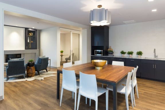 Lounge With Kitchen & Dining at 28 Austin, Newton