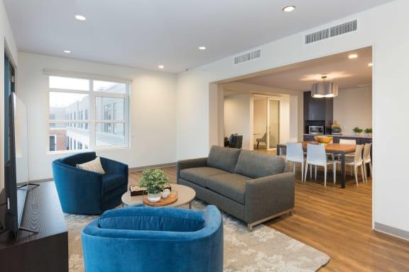 Carpeted Lounge at 28 Austin, Newton, 02460