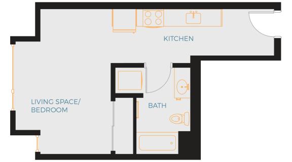 Fellows Floor Plan