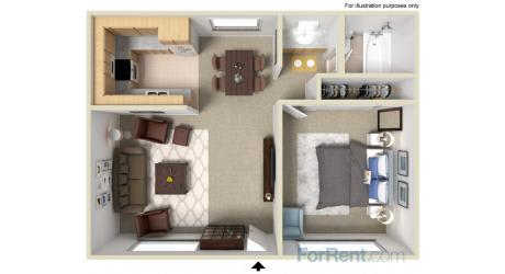 Point Bonita Apartment Homes - 1 Bedroom 1 Bath Apartment