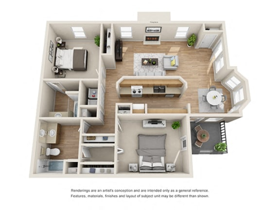 Floor Plan  Addison at Sandy Springs_Hampton