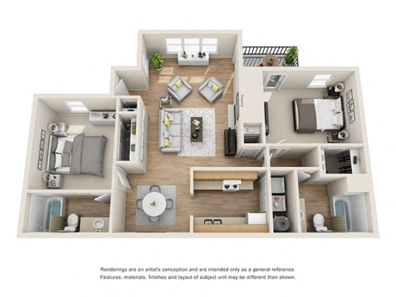 Floor Plan  Addison at Sandy Springs_Seabright