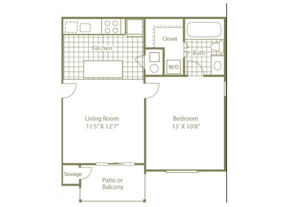 Uptown Buckhead Apartment Homes1 bedroom 1 bath 550 sqft