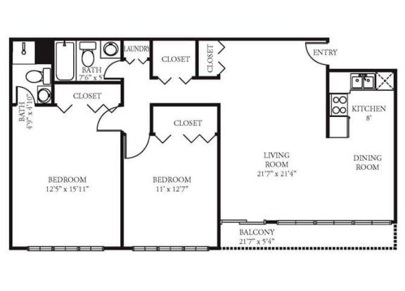 1 2 3 Bedroom Apartments Vista Apartment Homes