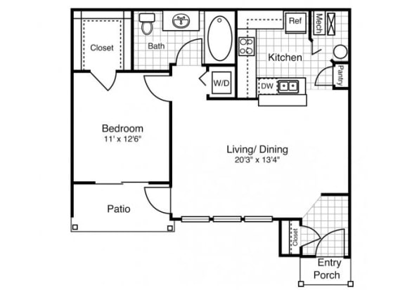 A4 - One Bedroom One Bath