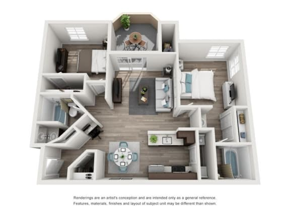 La Fendere floor plan