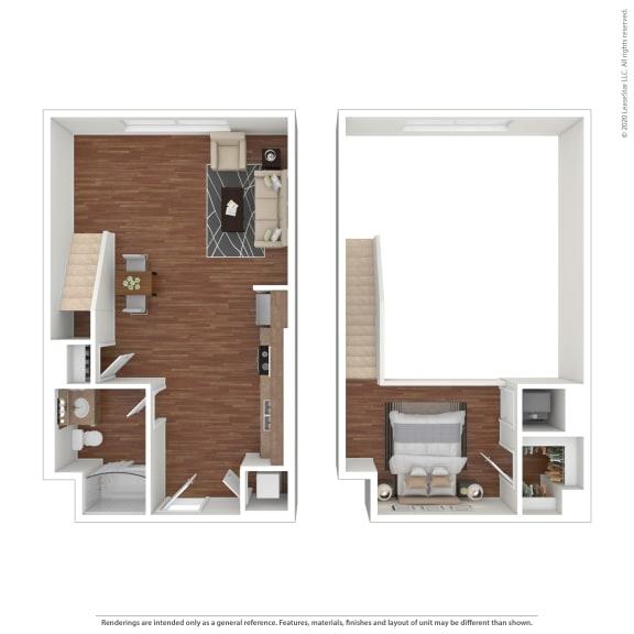 Floor Plan  Metro Gateway 3411 Grande Vista Pkwy  Riverside, CA 92503