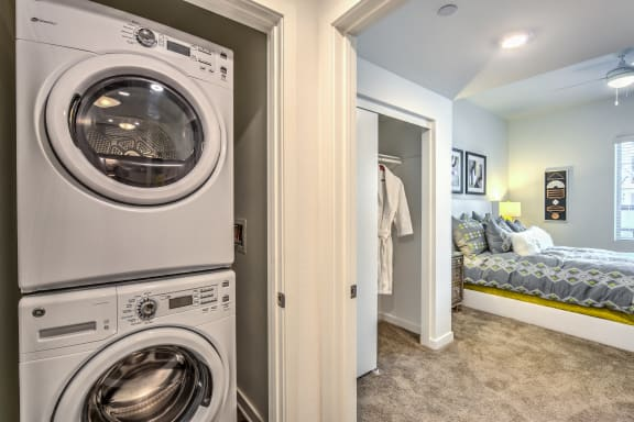 In Home Full Size Washer And Dryer at Metro Gateway, Riverside, 92503