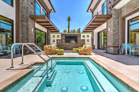 Resort Inspired Pool at Metro Gateway, Riverside, CA