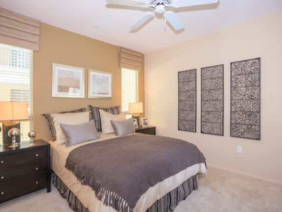 Comfortable Bedrooms at Meridian Place, Northridge, 91324
