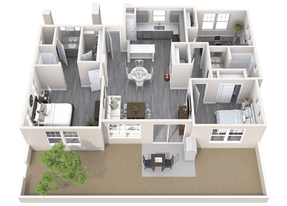 The Haven Floor Plan at Avilla Heritage, Texas
