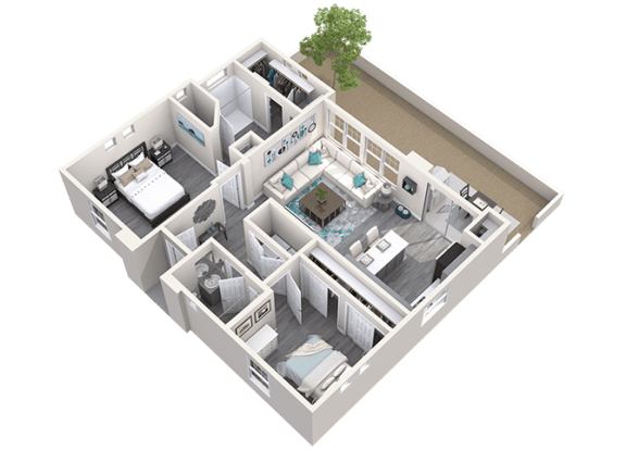 The Retreat Floor Plan at Avilla Heritage, Texas, 75052