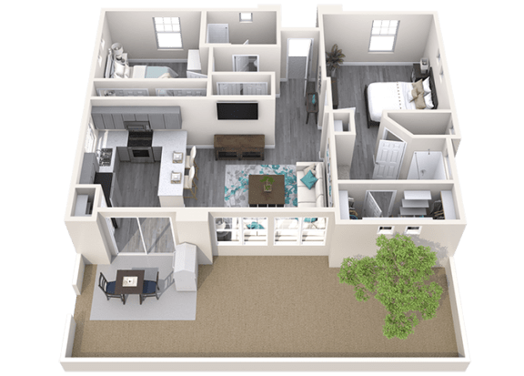 The Retreat Floor Plan at Avilla Camelback Ranch, Phoenix, AZ