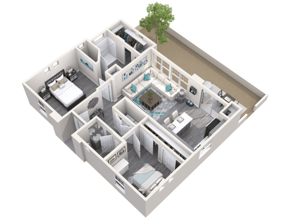 The Retreat Floor Plan at Avilla Meadows, Surprise