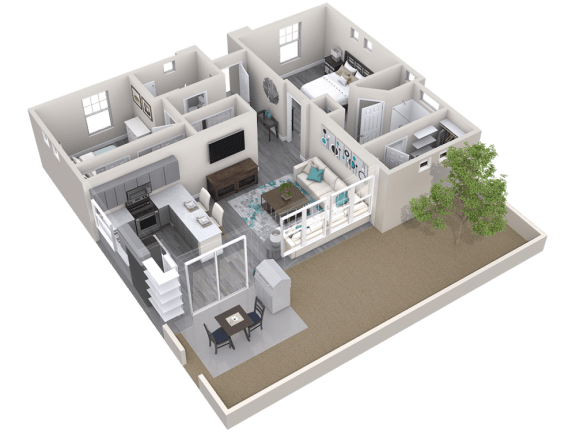 The Retreat Floor Plan at Avilla Meadows, Arizona