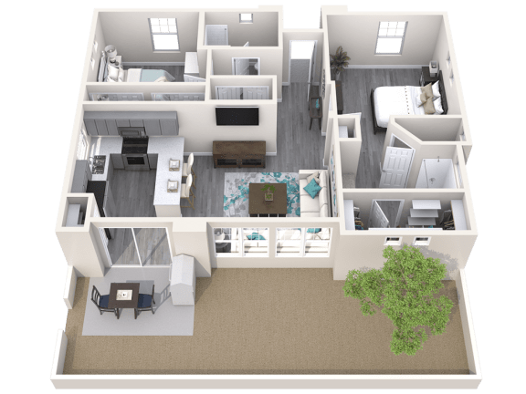 The Retreat Floor Plan at Avilla Meadows, Arizona, 85379