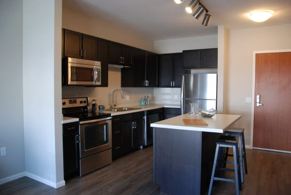 Open Concept Kitchen with Lots of Cabinets